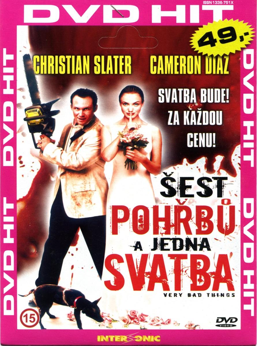 ŠEST POHŘBŮ A JEDNA SVATBA - DVD pošetka