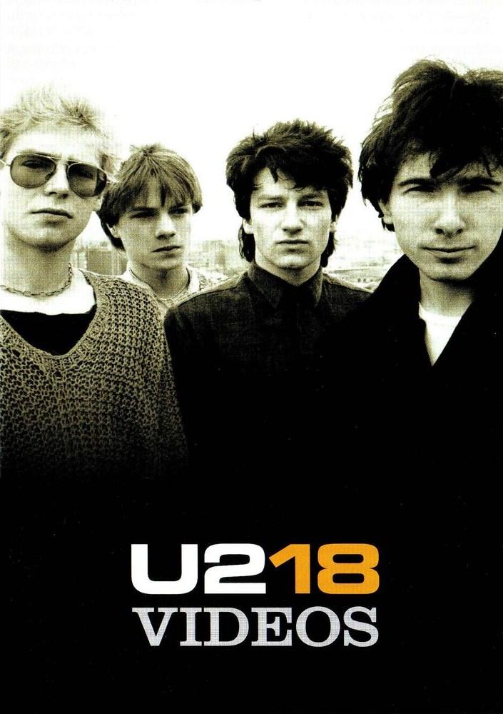 U2-18 VIDEOS - DVD