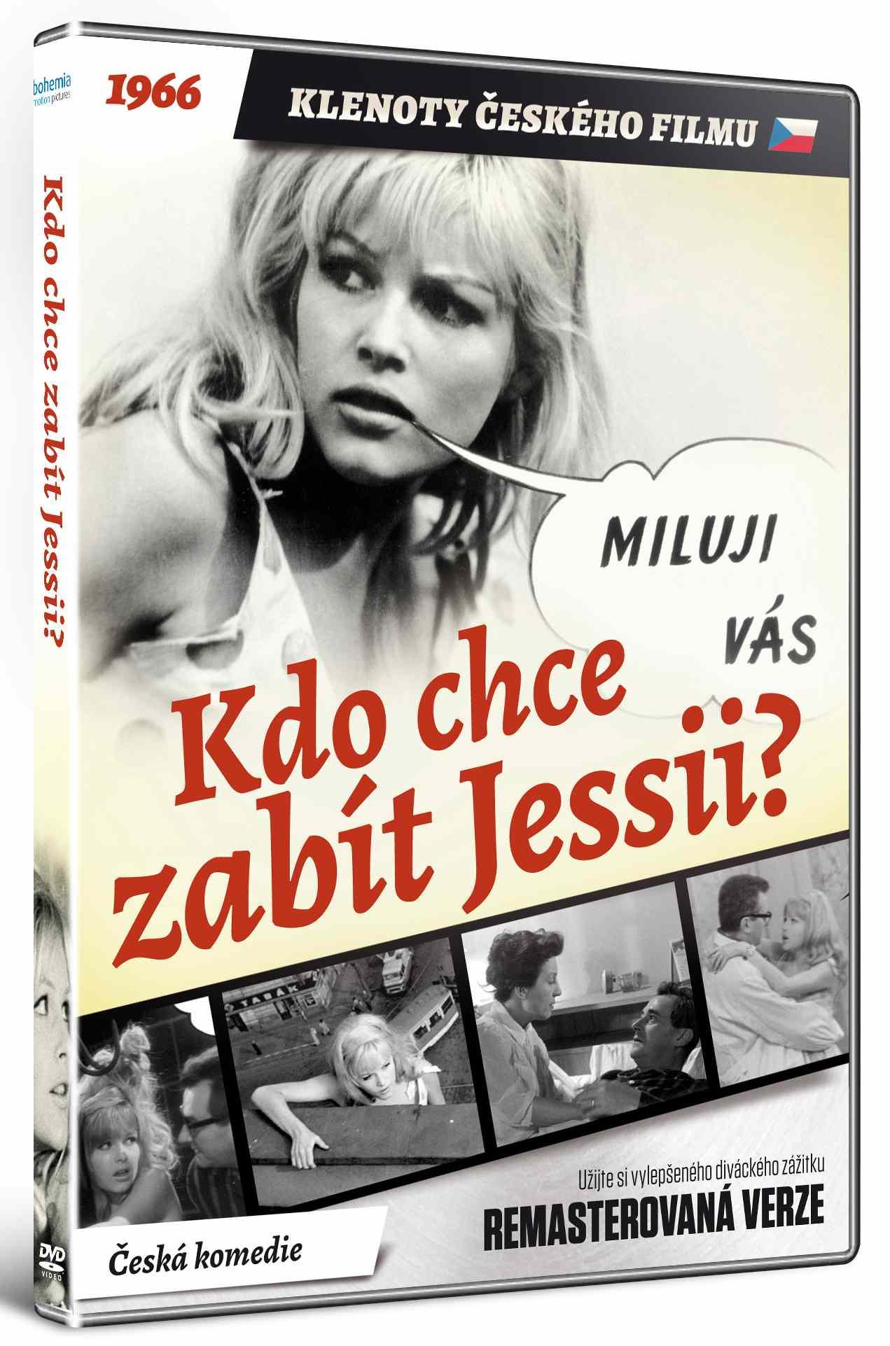 KDO CHCE ZABÍT JESSII (Remasterovaná verze) - DVD