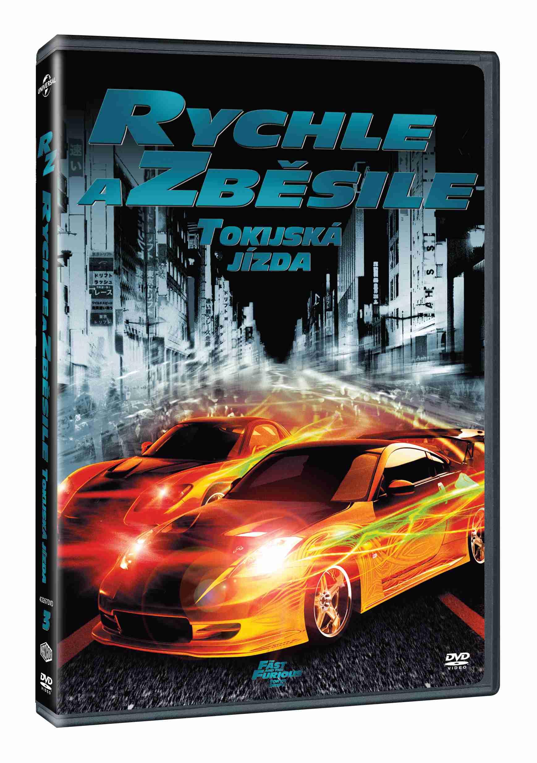 RYCHLE A ZBĚSILE -TOKIJSKÁ JÍZDA - DVD