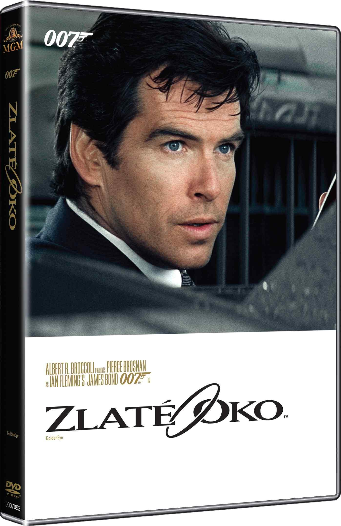BOND - ZLATÉ OKO - DVD