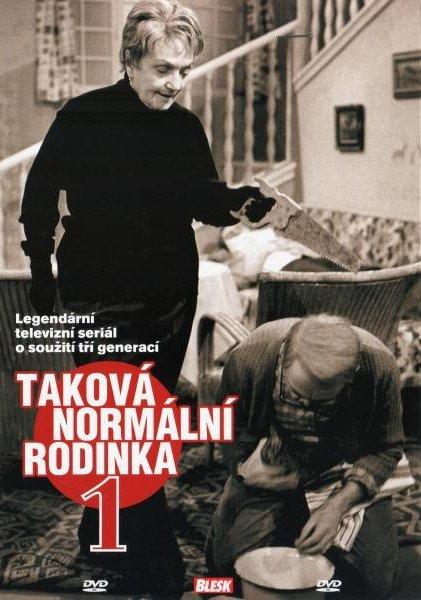 TAKOVÁ NORMÁLNÍ RODINKA - 4 DVD pošetka