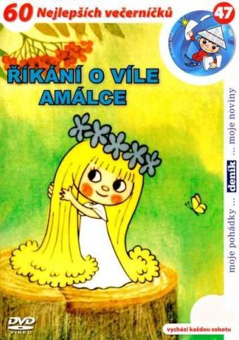 ŘÍKÁNÍ O VÍLE AMÁLCE - DVD pošetka