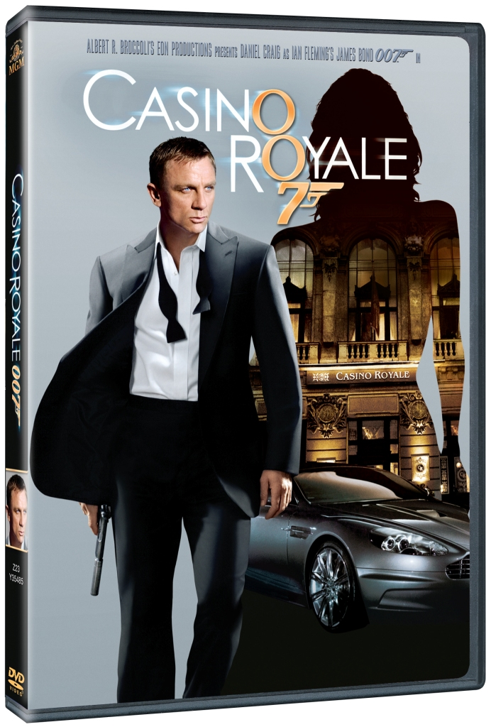 BOND - CASINO ROYALE - DVD