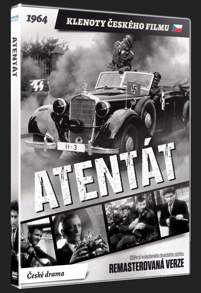ATENTÁT (Remasterovaná verze) - DVD
