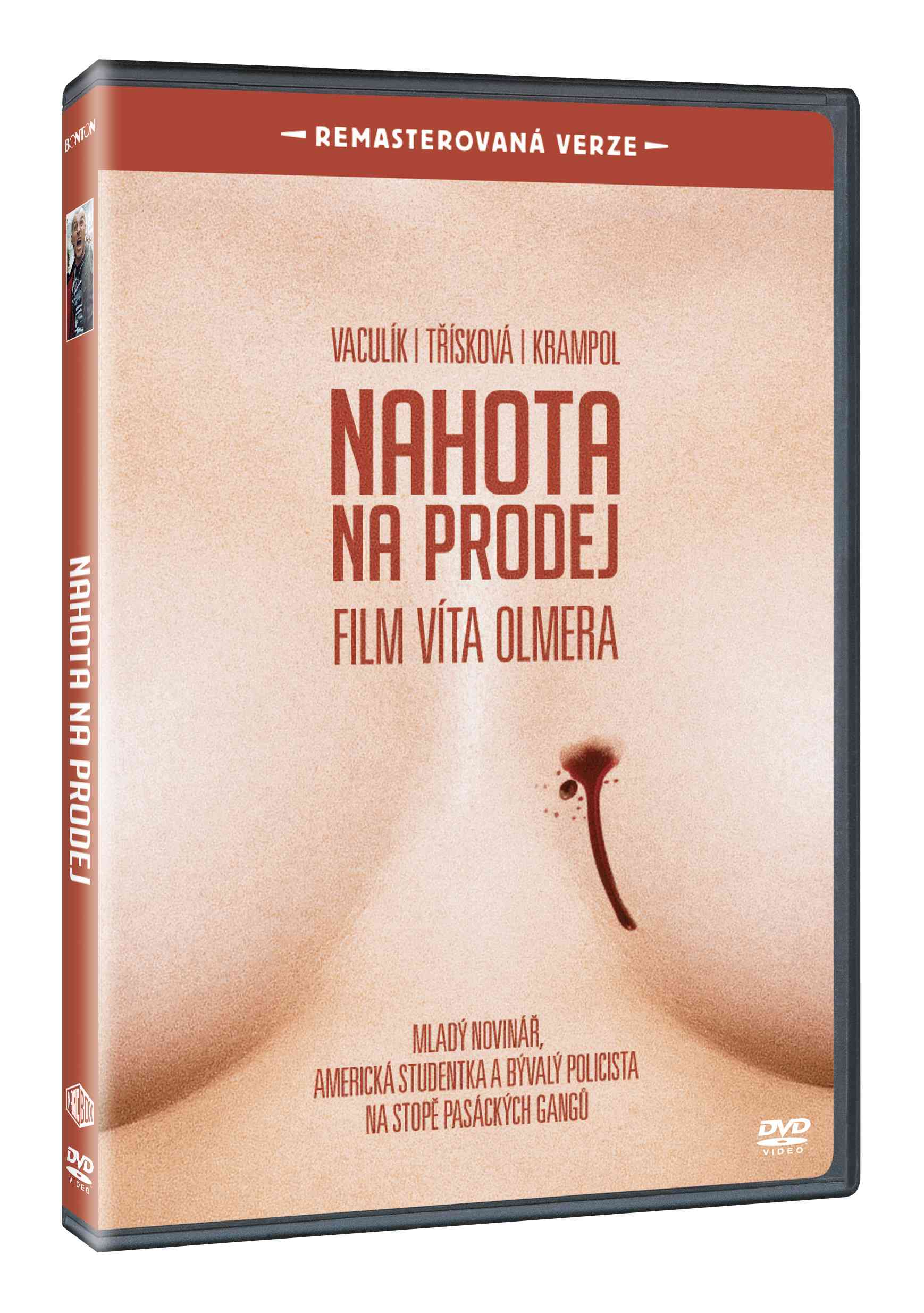 NAHOTA NA PRODEJ (Remasterovaná verze) - DVD