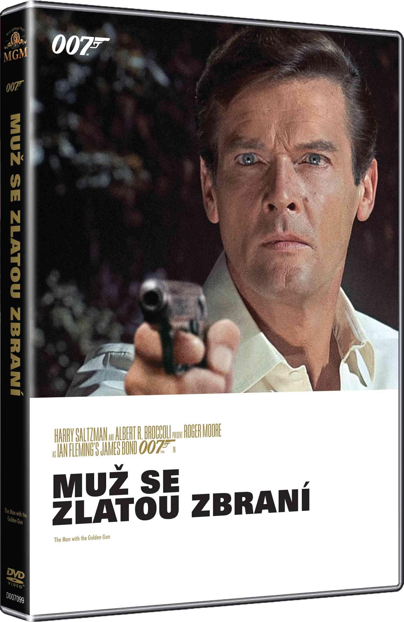 BOND - MUŽ SE ZLATOU ZBRANÍ - DVD