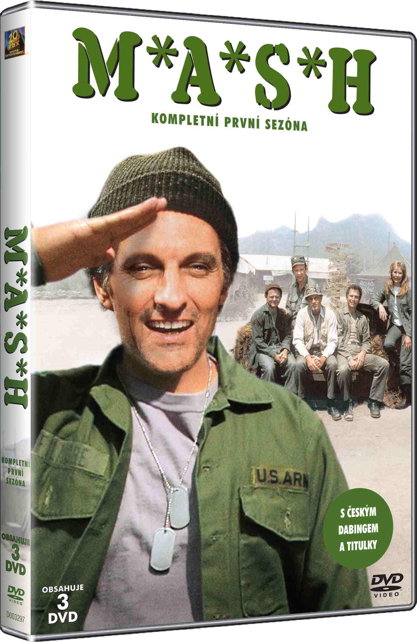 MASH (M.A.S.H.) - 1. SEZÓNA - DVD