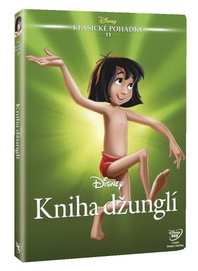 Kniha džunglí (Diamantová edice) - DVD