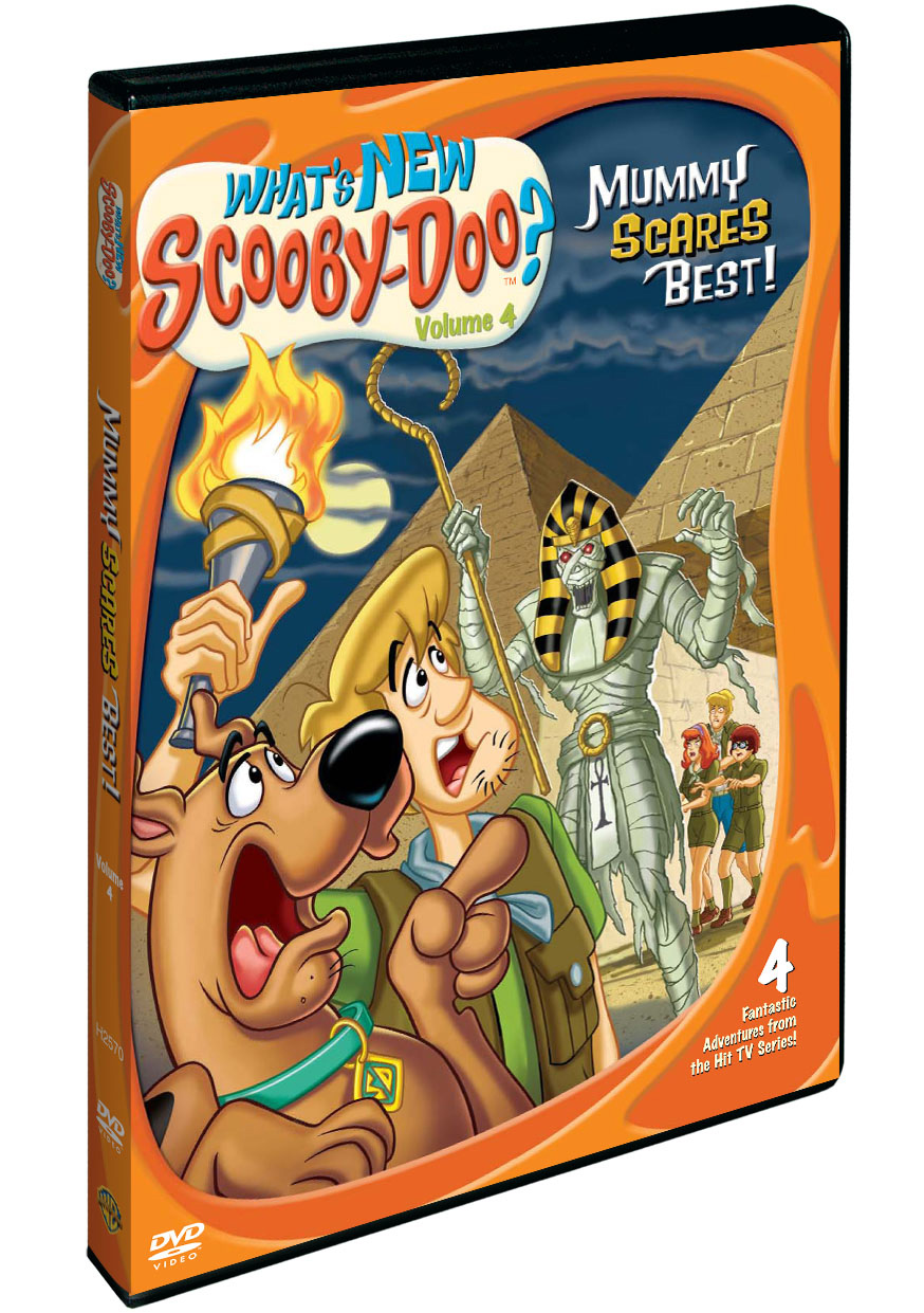 Co nového, Scooby-Doo? Část 4 Nejlíp straší mumie - DVD