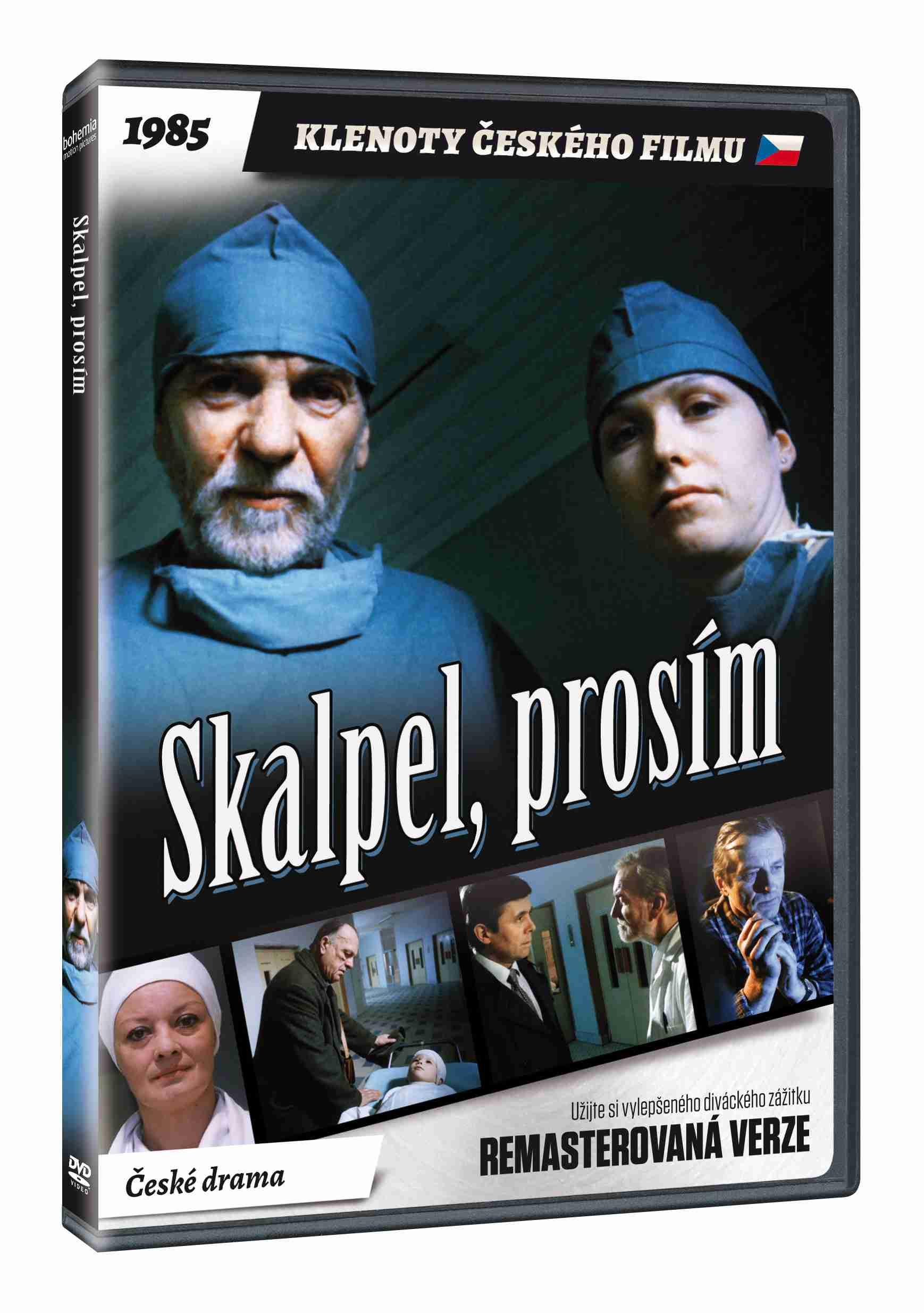 Skalpel, prosím - DVD (remasterovaná verze)