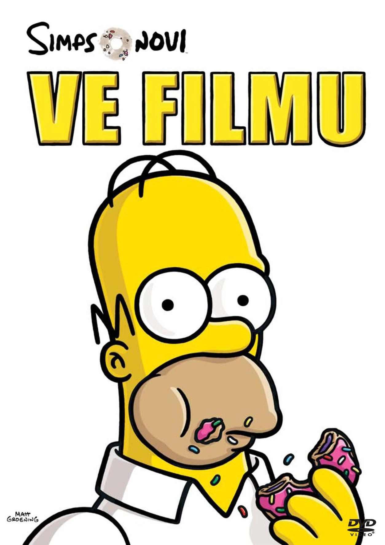 Simpsonovi ve filmu - DVD
