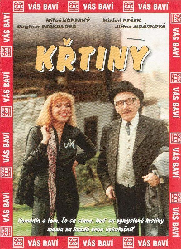 KŘTINY - DVD pošetka