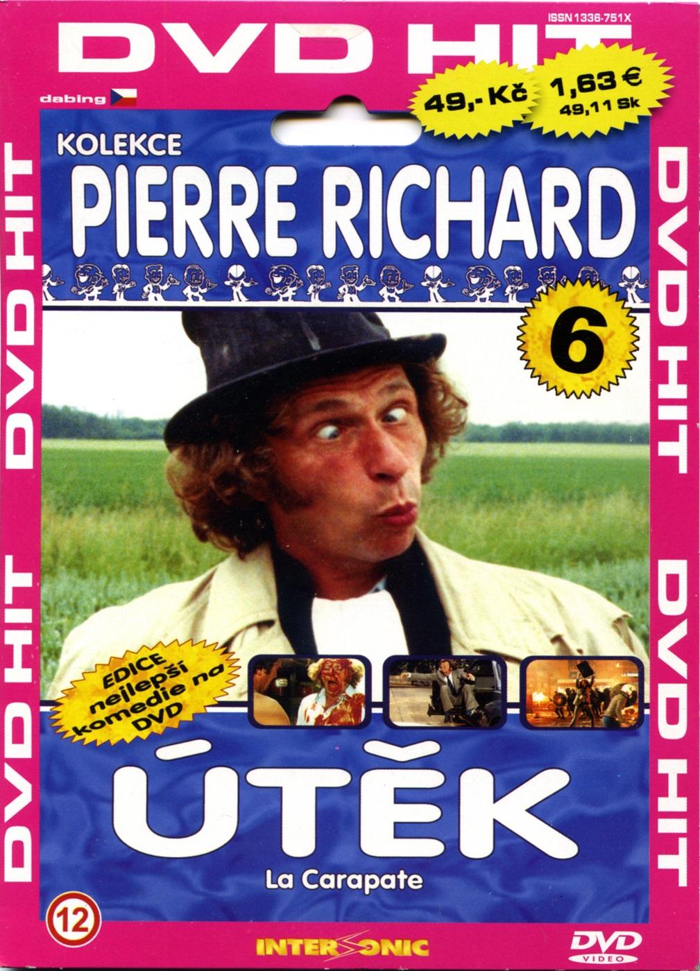 Útěk (Pierre Richard) - DVD pošetka