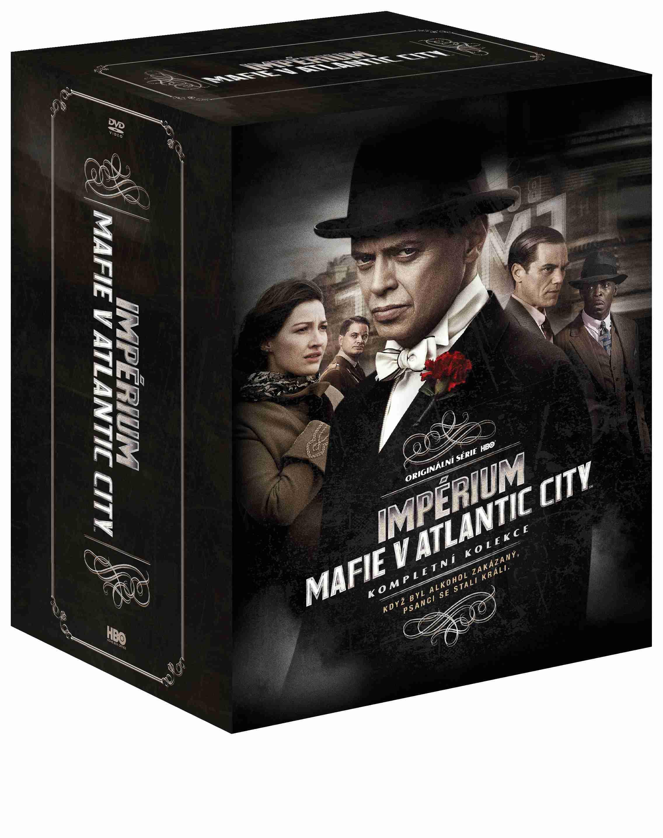 IMPÉRIUM: MAFIE V ATLANTIC CITY 1-5 KOMPLETNÍ SÉRIE - 23 DVD