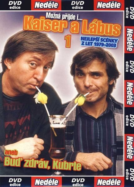 KAISER A LÁBUS: MOŽNÁ PŘIJDE I... - DVD pošetka