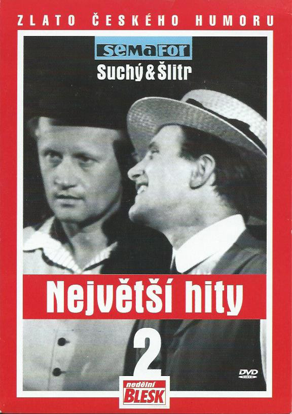 SEMAFOR: SUCHÝ A ŠLITR - NEJVĚTŠÍ HITY 2 - DVD pošetka