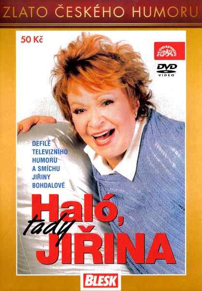JIŘINA BOHDALOVÁ: HALÓ, TADY JIŘINA - DVD pošetka