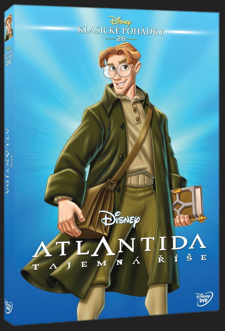 ATLANTIDA: TAJEMNÁ ŘÍŠE - DVD
