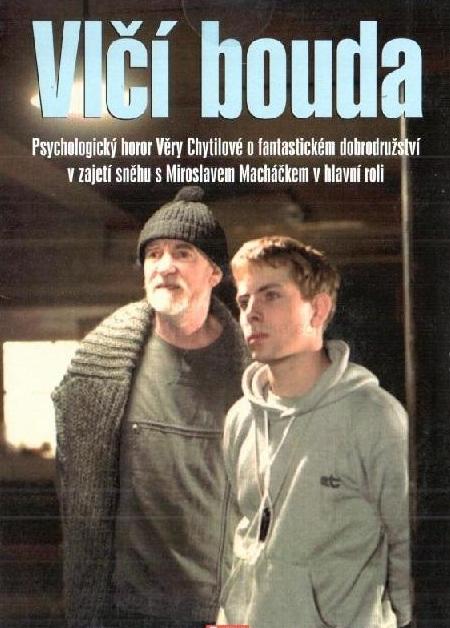 VLČÍ BOUDA - DVD pošetka