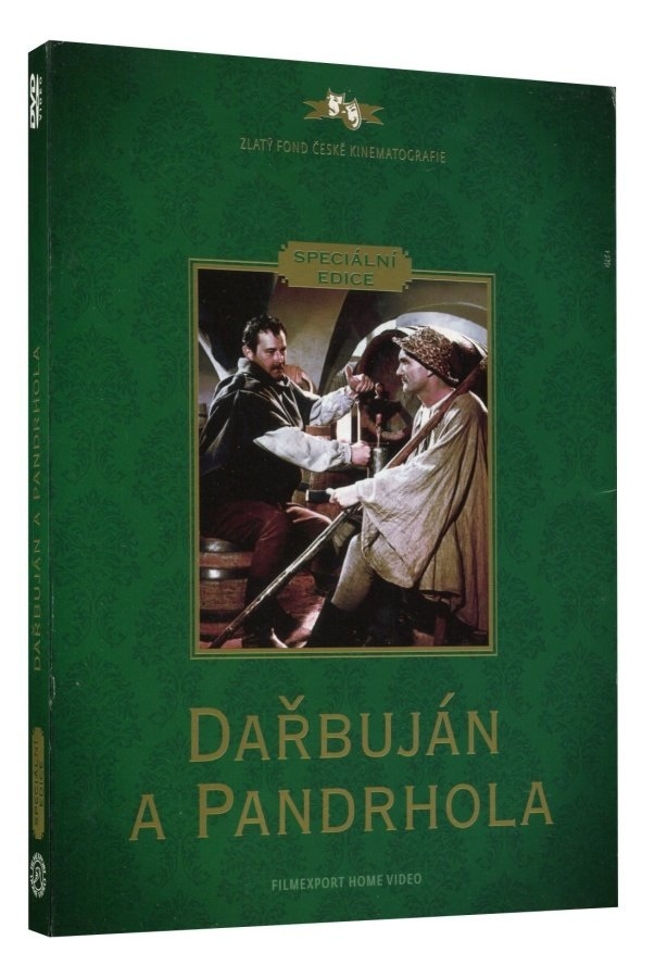 DAŘBUJÁN A PANDRHOLA - DVD