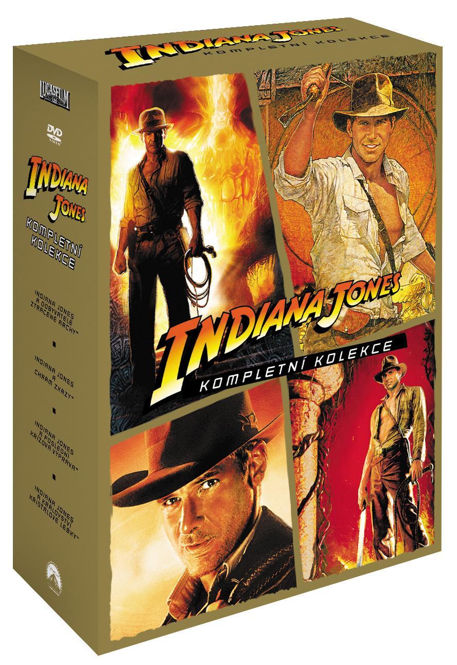 INDIANA JONES KOLEKCE - 4 DVD