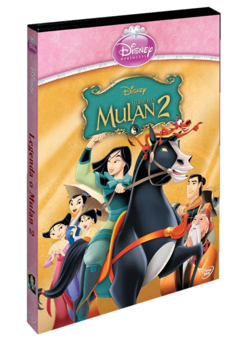 LEGENDA O MULAN 2 - DVD