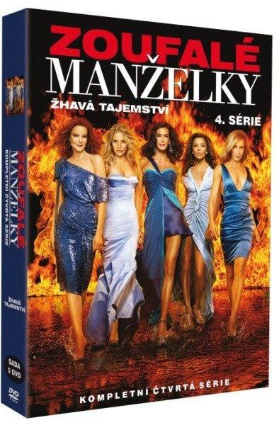 ZOUFALÉ MANŽELKY - 4.SÉRIE - DVD