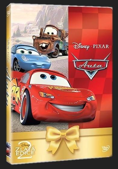AUTA (Cars) - DVD + 1DVD zdarma
