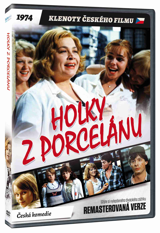 Holky z porcelánu - DVD (remasterovaná verze)