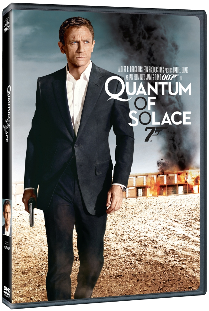 BOND - QUANTUM OF SOLACE - DVD