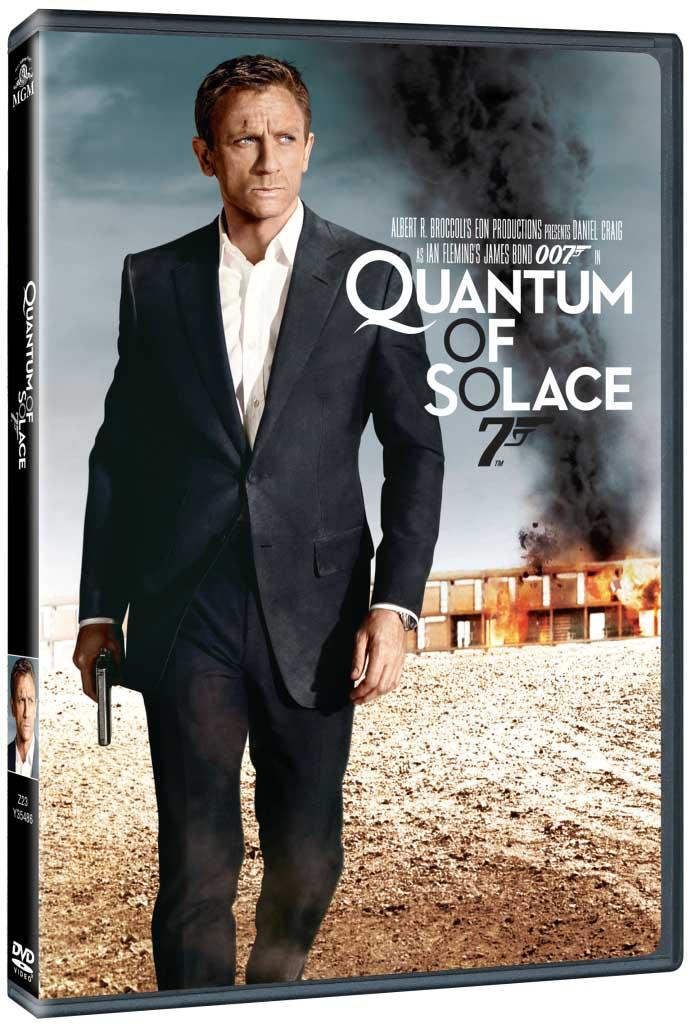 BOND - QUANTUM OF SOLACE - DVD