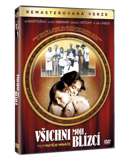 VŠICHNI MOJI BLÍZCÍ - DVD