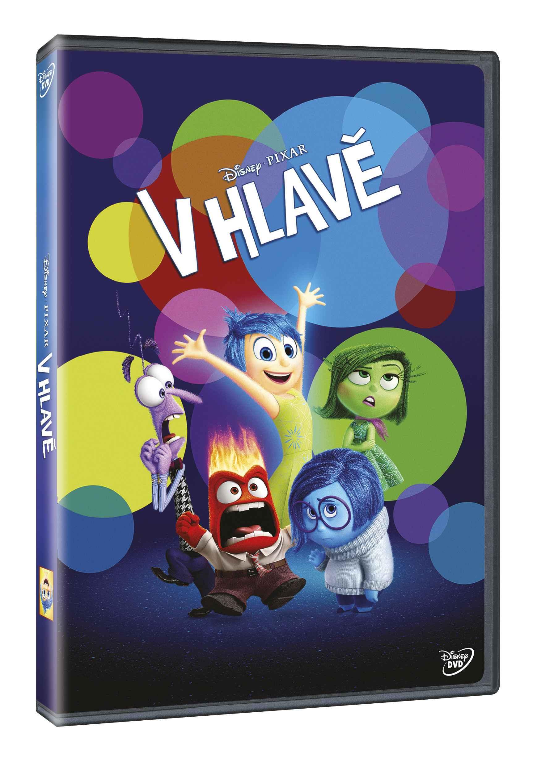 V HLAVĚ - DVD + 1DVD zdarma
