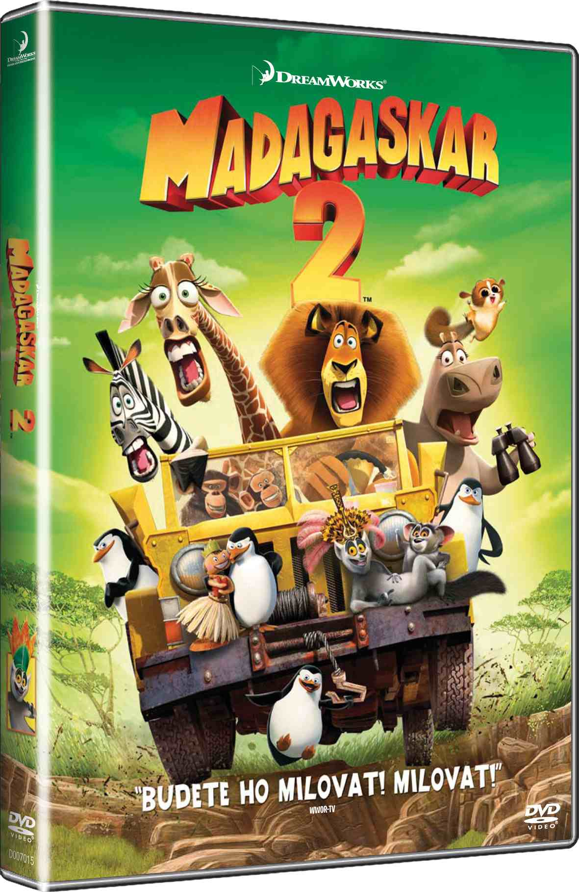 MADAGASKAR 2: ÚTĚK DO AFRIKY - DVD