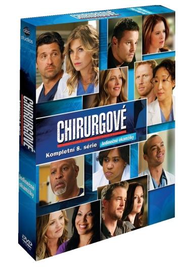 Chirurgové - 8. série - DVD