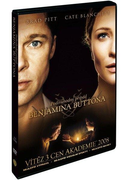 PODIVUHODNÝ PŘÍPAD BENJAMINA BUTTONA - DVD