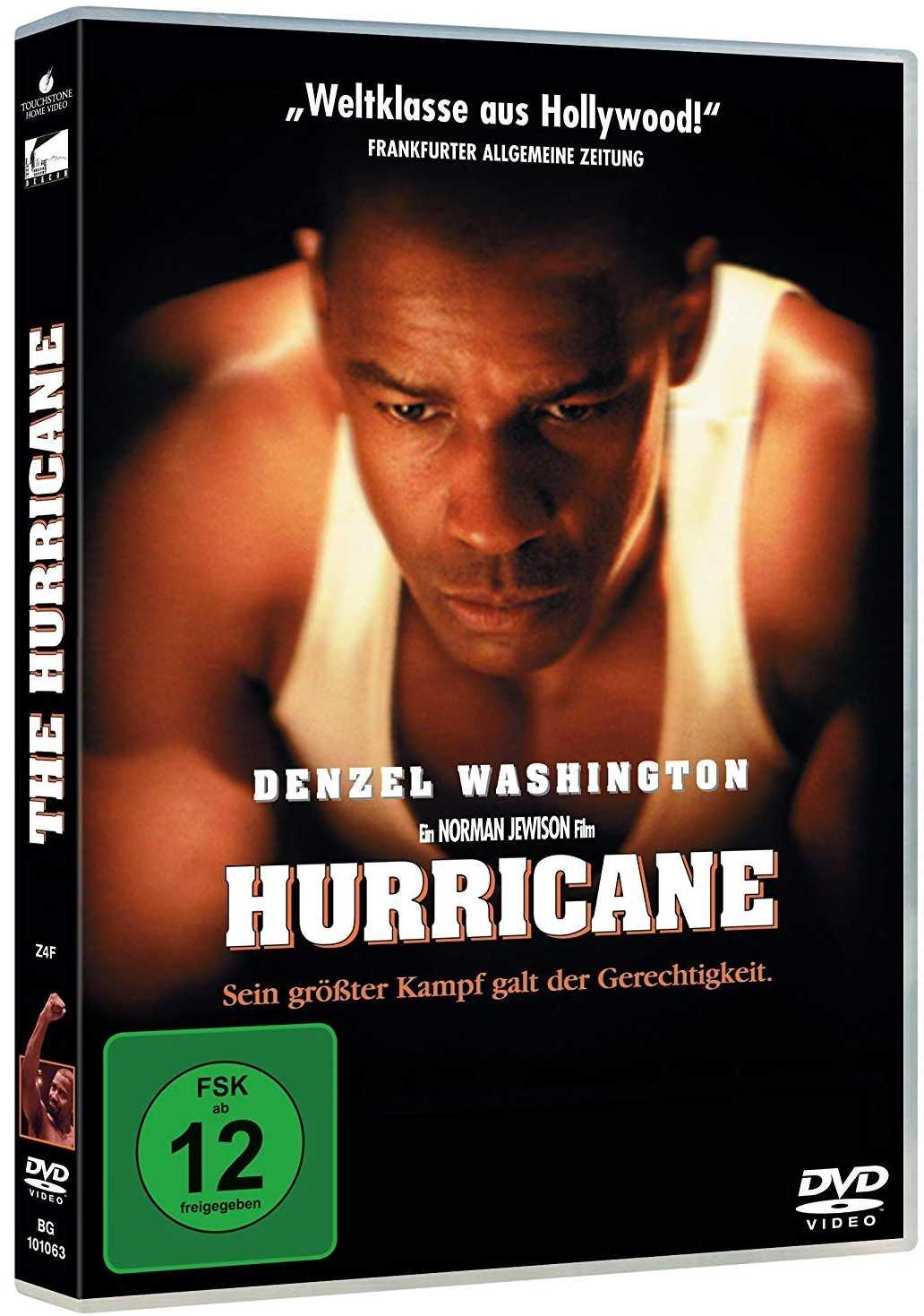 Hurikán v ringu - DVD
