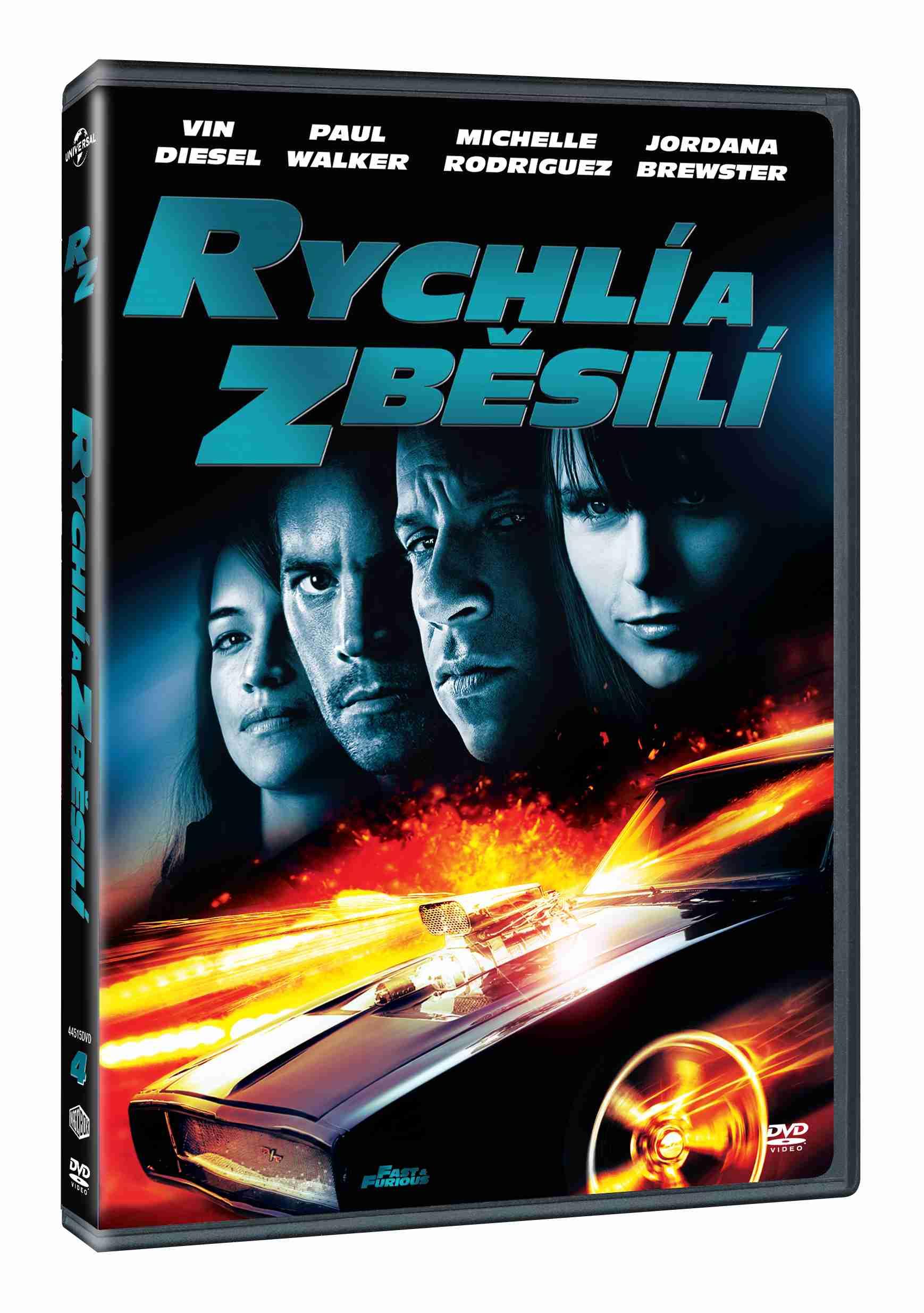 RYCHLÍ A ZBĚSILÍ 4 - DVD