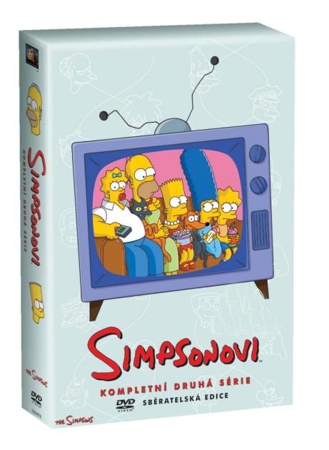 SIMPSONOVI 2. SEZÓNA - DVD