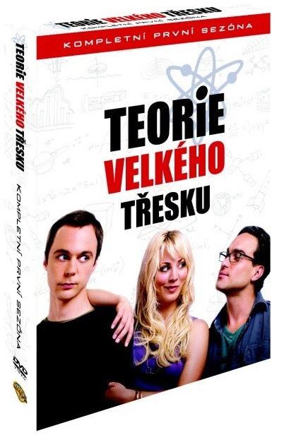 TEORIE VELKÉHO TŘESKU 1. SEZÓNA - DVD