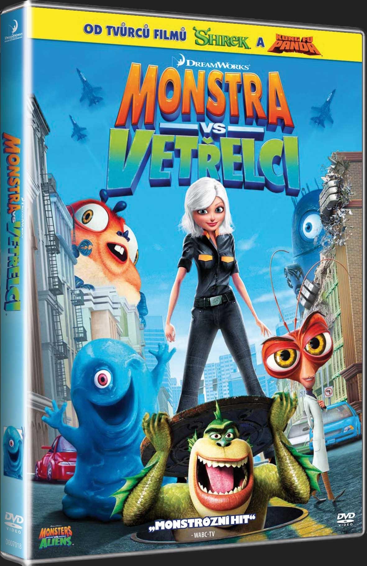 MONSTRA VS. VETŘELCI - DVD
