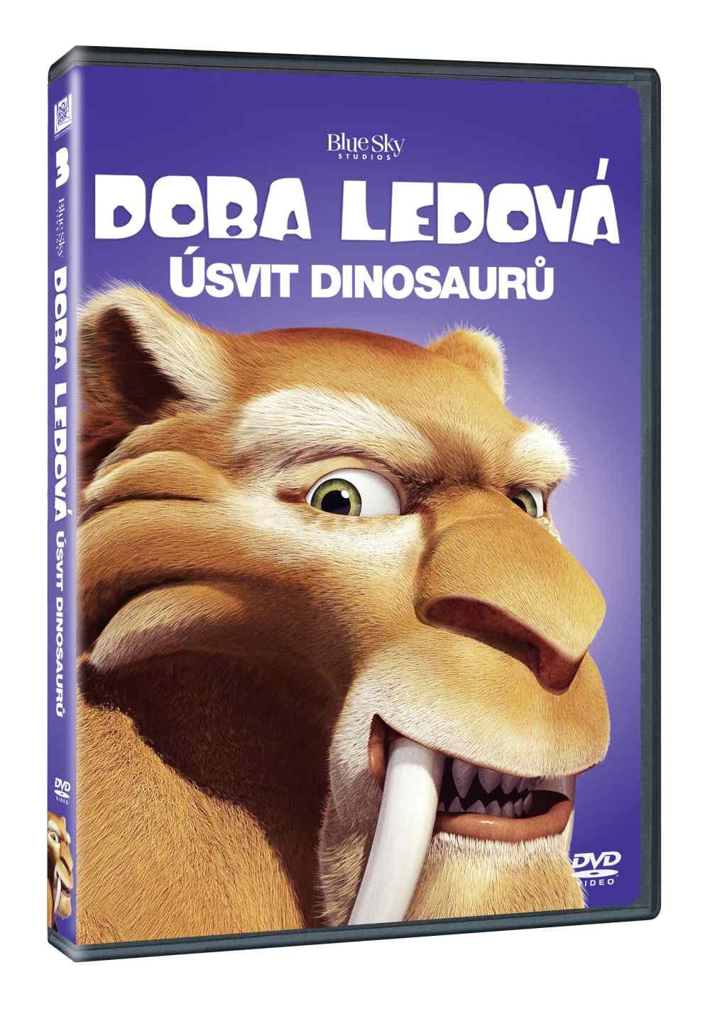 DOBA LEDOVÁ 3: ÚSVIT DINOSAURŮ - DVD