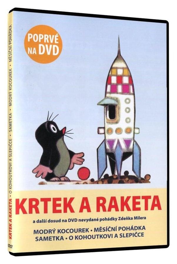 Krtek a raketa (a další 4 pohádky Z. Milera) - DVD slim