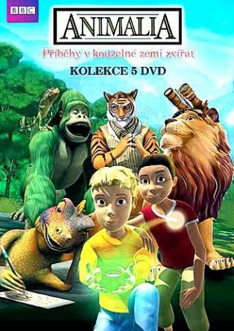 ANIMALIA KOLEKCE - 5 DVD