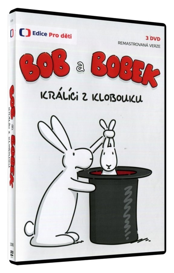 BOB A BOBEK: KRÁLÍCI Z KLOBOUKU (3DVD) - DVD