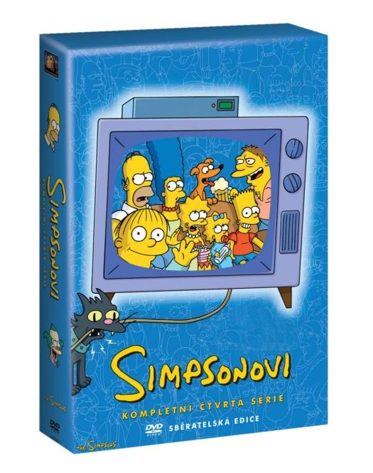Simpsonovi 4. série - DVD