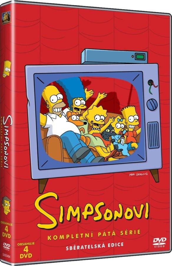 SIMPSONOVI 5. SEZÓNA - DVD