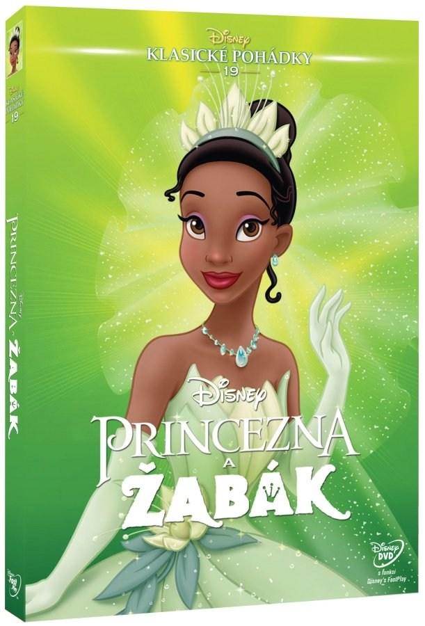 Princezna a žabák - DVD