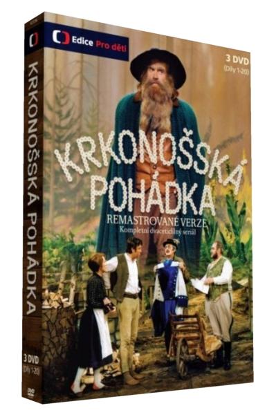 KRKONOŠSKÉ POHÁDKY (Remasterovaná verze) - 3 DVD